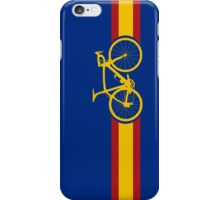 Bike Stripes Spanish National Road Race iPhone Case/Skin