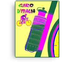 """GIRO D ITALIA BICYCLE"" Racing Advertising Print Canvas Print"