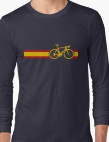 Bike Stripes Spanish National Road Race Long Sleeve T-Shirt