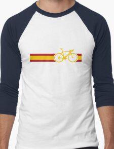 Bike Stripes Spanish National Road Race Men's Baseball ¾ T-Shirt