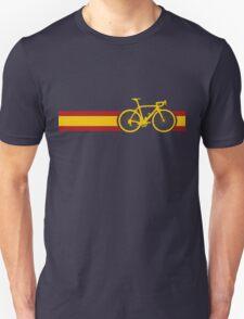 Bike Stripes Spanish National Road Race Unisex T-Shirt