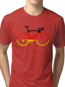 Bike Flag Germany (Big) Tri-blend T-Shirt