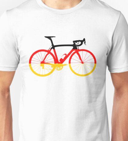 Bike Flag Germany (Big) Unisex T-Shirt