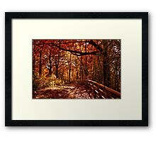 Colors Of Times Pasting Framed Print