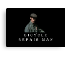 Bicycle Repair Man Canvas Print