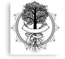 Yggdrasil - Family, Union, Togetherness, Oneness With The World Canvas Print