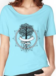 Yggdrasil - Family, Union, Togetherness, Oneness With The World Women's Relaxed Fit T-Shirt