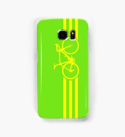 Bike Stripes Yellow Samsung Galaxy Case/Skin