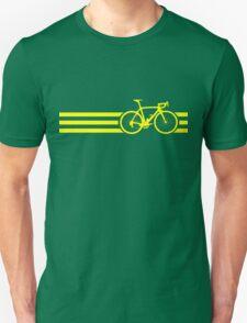 Bike Stripes Yellow T-Shirt