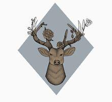 Geometric Gray Deer Unisex T-Shirt