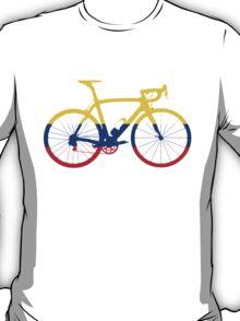 Bike Flag Colombia (Big) T-Shirt
