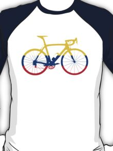 Bike Flag Colombia (Big) T-Shirt