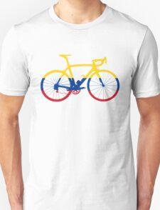 Bike Flag Colombia (Big) Unisex T-Shirt