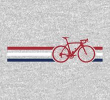 Bike Stripes British National Road Race v2 Kids Tee