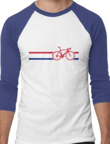 Bike Stripes British National Road Race v2 Men's Baseball ¾ T-Shirt