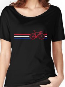 Bike Stripes British National Road Race v2 Women's Relaxed Fit T-Shirt