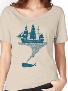 Exhaling flotsam Women's Relaxed Fit T-Shirt