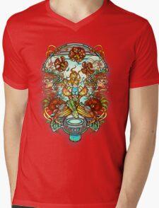 Maternal Instinct Mens V-Neck T-Shirt
