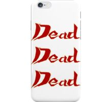 Climbing Up The Ranks iPhone Case/Skin