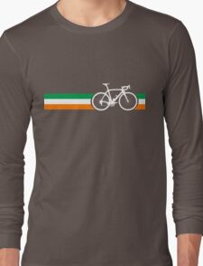 Bike Stripes Irish National Road Race Long Sleeve T-Shirt