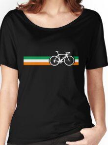 Bike Stripes Irish National Road Race Women's Relaxed Fit T-Shirt