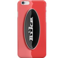 Bike (Retro Emblem) iPhone Case/Skin