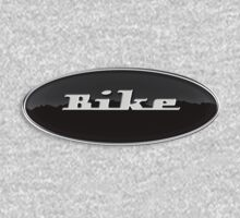 Bike (Retro Emblem) Kids Tee