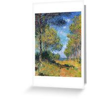 Claude Monet - Path At Varengeville Greeting Card