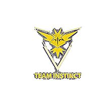 Team instinct Photographic Print