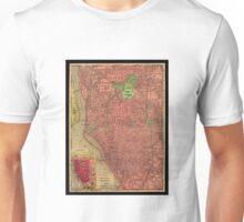 Map Of Buffalo 1896 Unisex T-Shirt