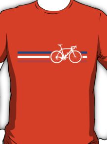 Bike Stripes French National Road Race v2 T-Shirt