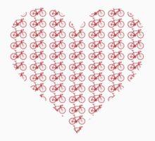 Bike Heart (Red) (Small) by sher00
