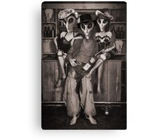 Alien Vacation - Old Time Photo Canvas Print