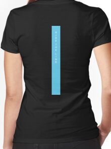 Ride The Line Women's Fitted V-Neck T-Shirt