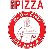 AB Pizza - Pizza Boy Photographic Print