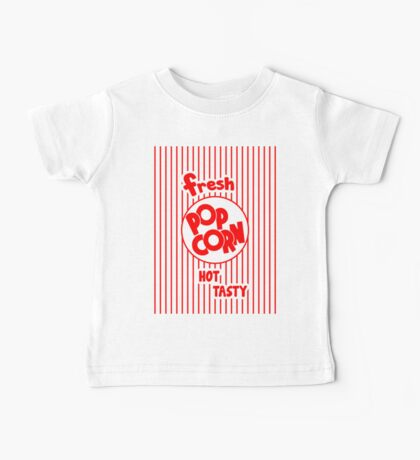 Popcorn Bag Baby Tee
