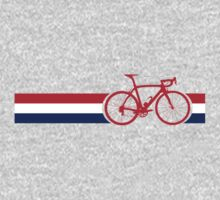 Bike Stripes British National Road Race One Piece - Long Sleeve