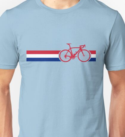 Bike Stripes British National Road Race Unisex T-Shirt