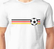 Football Stripes Germany Unisex T-Shirt
