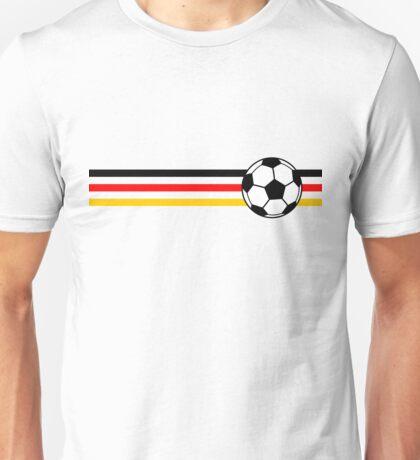 Football Stripes Germany Unisex T-Shirt