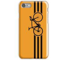 Bike Stripes Black iPhone Case/Skin