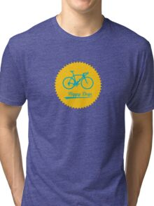 Chainring Sun (Happy Days) Tri-blend T-Shirt