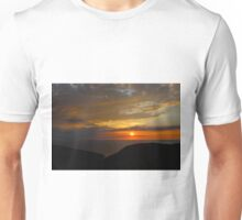 Sunset on MacKenzie Mountain Unisex T-Shirt