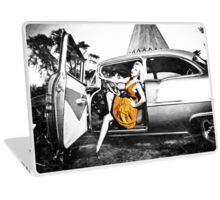 Women are the real architects of society.  Laptop Skin