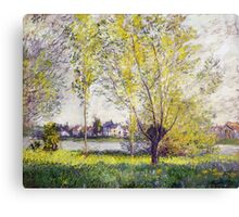 Claude Monet - The Willows Canvas Print
