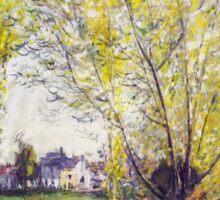 Claude Monet - The Willows Sticker