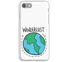 Wanderlust planet. iPhone Case/Skin