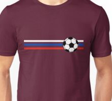 Football Stripes Russia Unisex T-Shirt
