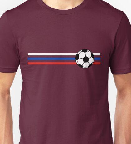 Football Stripes Russia Unisex T-Shirt