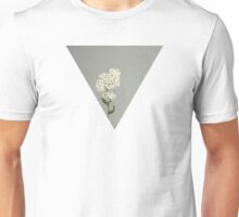White Flowers Unisex T-Shirt